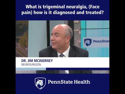 Trigeminal Neuralgia best treatment: MVD surgery.... Dr Jaydev Panchawagh, Pune.