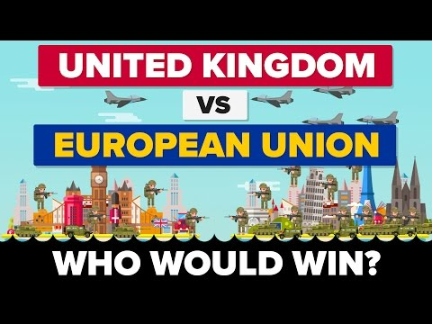 United Kingdom vs European Union (UK VS EU) 2017 - Who Would Win? Brexit / Military Comparison