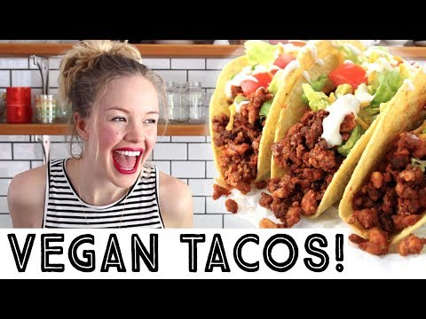 Vegan Tofu Taco Crumbles - How to Make Vegan Taco Meat