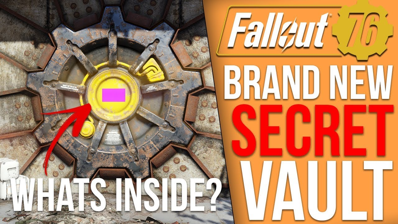 The Latest Fallout 76 Update (Accidentally?) Added in a Secret Vault
