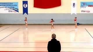 Ata Spor Aerobik Cimnastik Ekibi Türkiye Şampiyonu / 11-12 Yaş Grubu (07-09 Mart 2014)