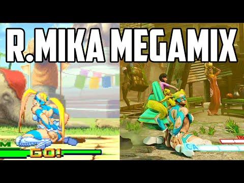 R. Mika Megamix + Comparison [SFV/SFA3]