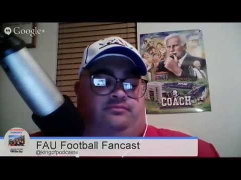FAU Football Fancast 09.09.14:FAU Student Section & Red Pants; Tulsa Preview
