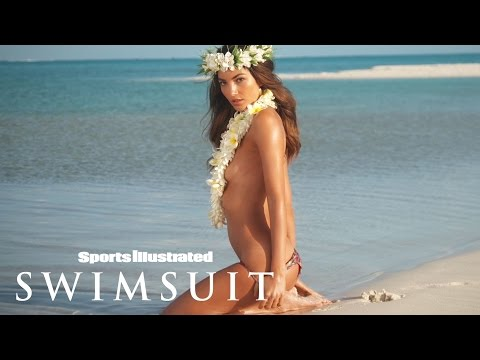 Lily Aldridge Gets Lei'd In The Cook Islands | Profile | Sports Illustrated Swimsuit