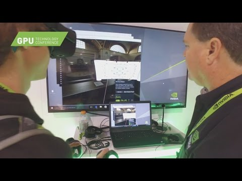 Virtual and Augmented Reality at GTC 2017