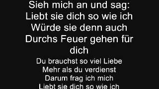 Christina Stürmer - liebt sie dich so wie ich ? ( lyrics)