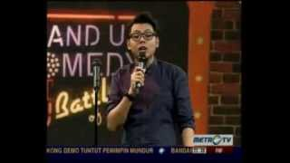 Stand Up Comedy Metro TV Battle of Comic Edisi Resolusi 2013 (1)