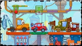 Wheely 4 Time Travel Game Walkthrough (All Levels)