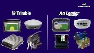 Сравнение работы гидравлических автопилотов Ag Leader и Trimble