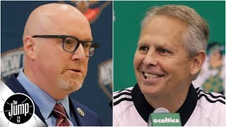 How David Griffin-Danny Ainge relationship could affect trade talks (for Anthony Davis?) | The Jump