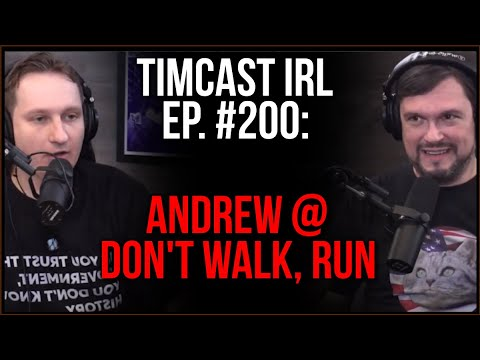 Timcast IRL - Feds Consider FELONY MURDER Charges For DC Rioters, Parler Strikes Back w/ DontWalkRun