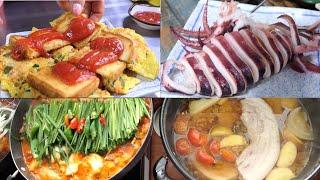 청량리시장 은밀한 맛집/ 닭볶음탕/코다리찜/수육/오징어…
