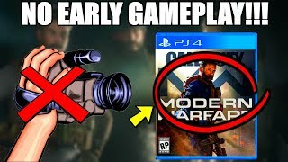 New Modern Warfare 'Special OPS' Trailer! ACTIVISION Wants No 'EARLY GAMEPLAY'! MW Release Schedule!