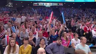 IHF World Championship | Bronze Medal Game | Slovenia vs. Croatia - Last 15 minutes [FullHD] 2/3