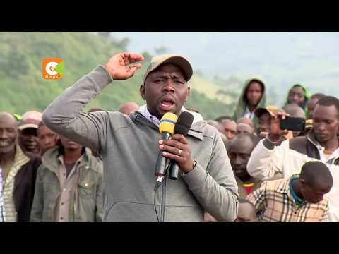 Rift Valley MPs return to Mau, ask evictees to stay put