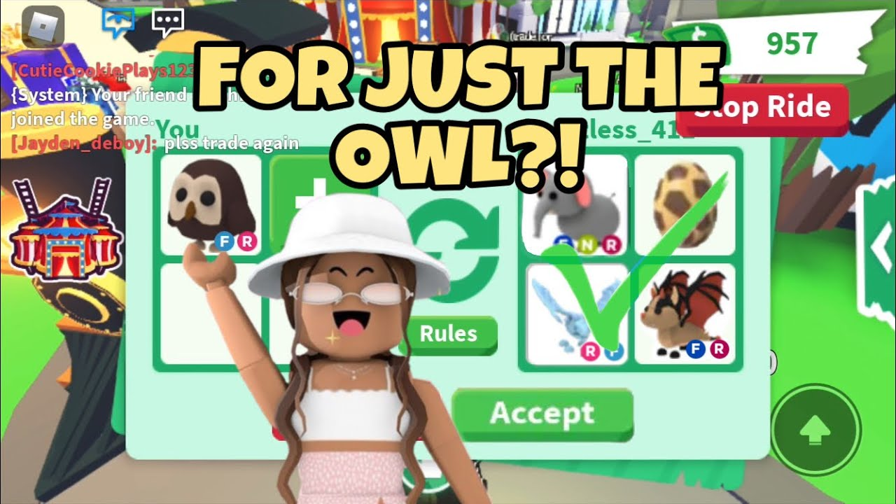 Download What People Trade for an Owl! (Roblox Adopt Me) | IzzyRoseRoblox