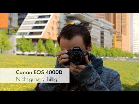 Canon EOS 4000D | Die billigste Canon-DSLR aller Zeiten? [Deutsch]