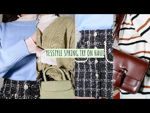Spring YesStyle Haul | First Impressions & Try On Review (Jewelry, Handbags, Clothing)