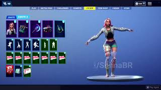 "Leaked ""Glitter"" emote w/ - ""Wilde"" outfit (Another K-Pop emote. lol)"