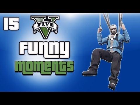 GTA 5 Online Funny Moments Ep. 15 (Getting inside secret IAA Office)