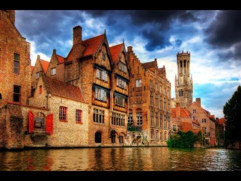 VISIT BRUGES - (BRUGGE), Belgium (The Venice of the North).