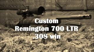 Accurized Remington 700 LTR .308 win | jcsguns