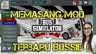 Gambar cover Cara memasang mod BUSSID (bus simulator indonesia)