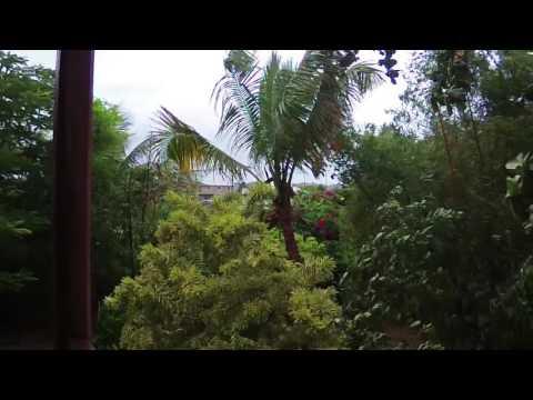 Tropical Storm Matthew over Barbados Sep 28, 2016