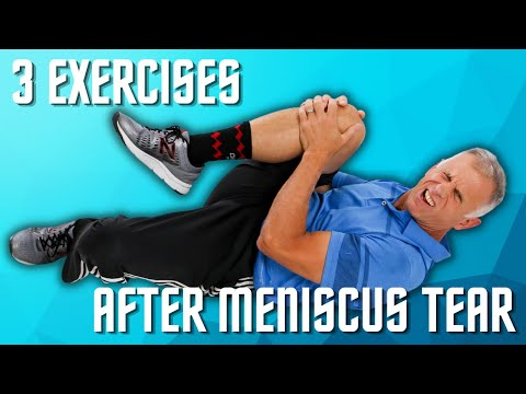 Top Exercises After Meniscus Tear In Your Knee Cartilage