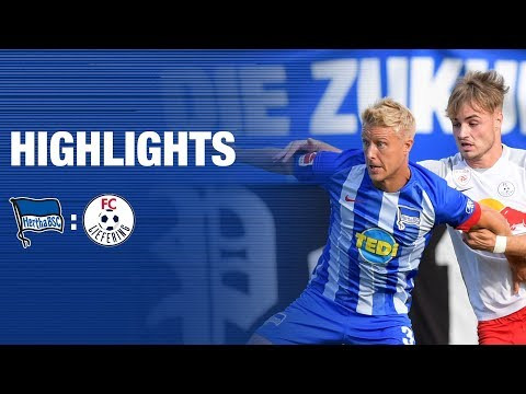 Highlights: Hertha BSC vs. FC Liefering