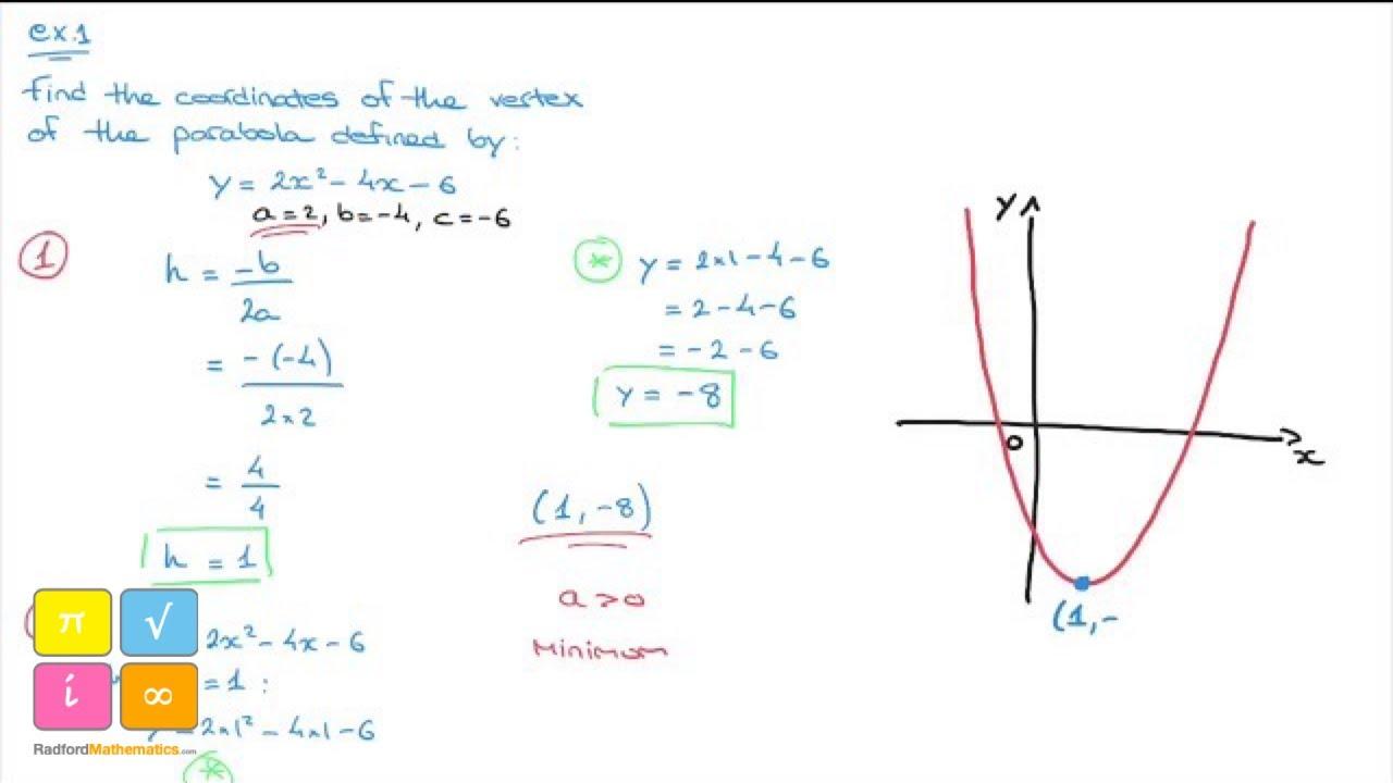 Quadratic Function Parabola Facendo i calcoli su una parabola del genere non mi trovo neanche sostituendo le x con le y nella formula. quadratic function parabola