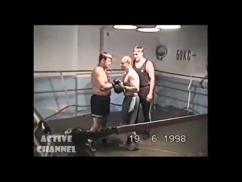 Жестокий бокс двух