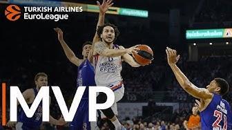 Turkish Airlines EuroLeague Regular Season Round 28 MVP: Shane Larkin, Anadolu Efes Istanbul