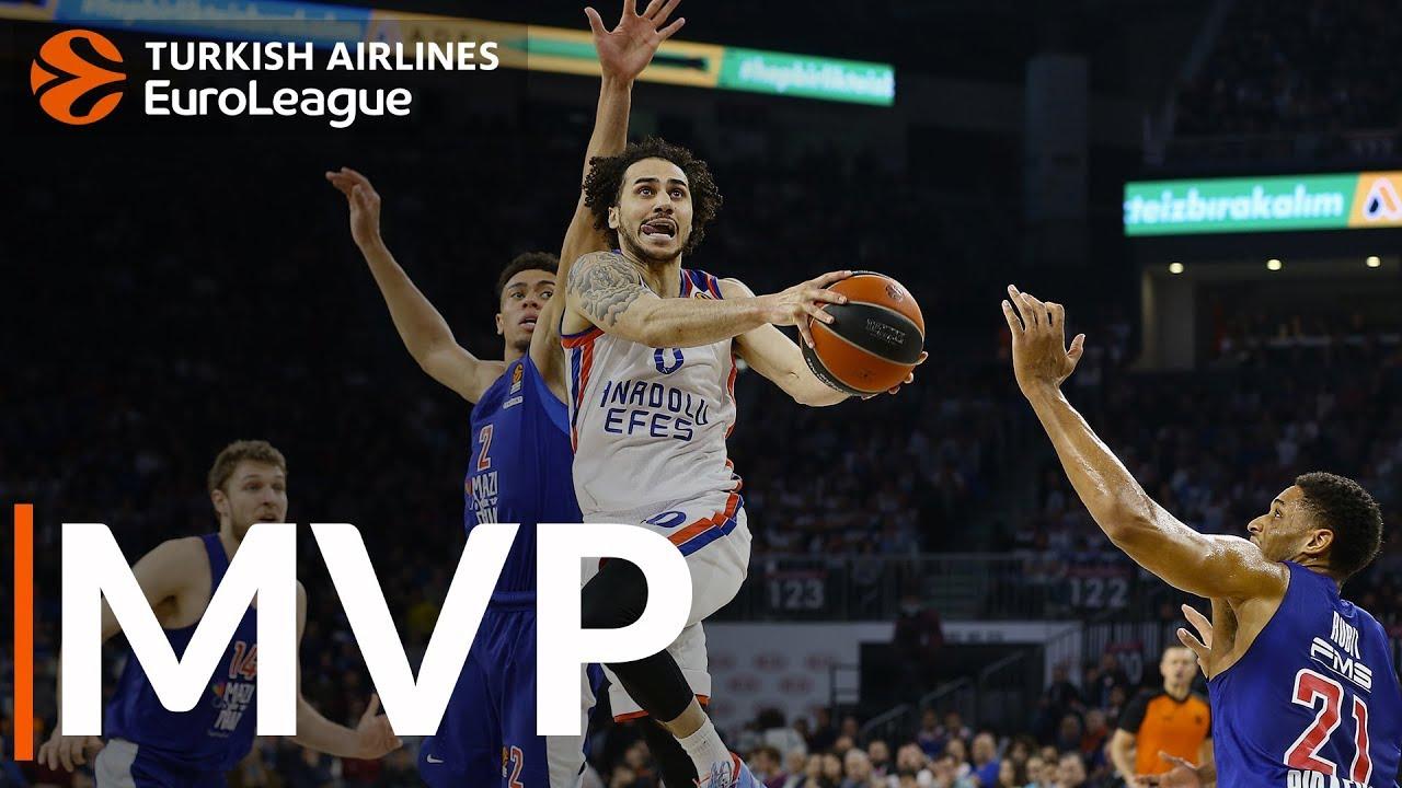 THY EuroLeague'de 28. haftanın MVP'si: Shane Larkin, Anadolu Efes Videosu