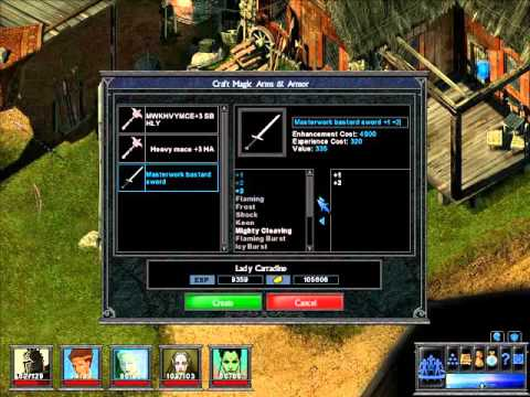 User Interface Evolution – Part III – ToEE Crafting