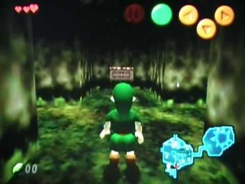 The Legend of Zelda Ocarina of Time Bloopers