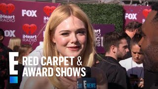 Elle Is Fanning Out Over Halsey at the 2019 iHeartRadio Music Awards | E! Red Carpet & Award Shows