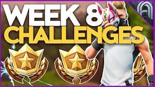 Fortnite Saison 5 Semaine 8 Challenges Guide! Battle Pass Challenges!