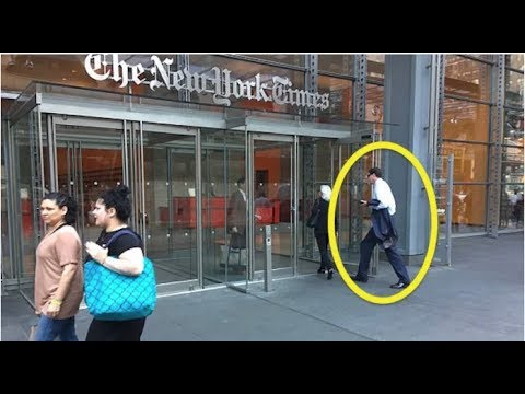 TRAITOR JAMES COMEY WAS JUST SPOTTED DOING THE UNTHINKABLE AT NEW YORK TIMES!