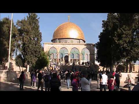 Dome of the Rock Golden Dome, where Abraham Prepared to Sacrifice Isaac - Israel Tour