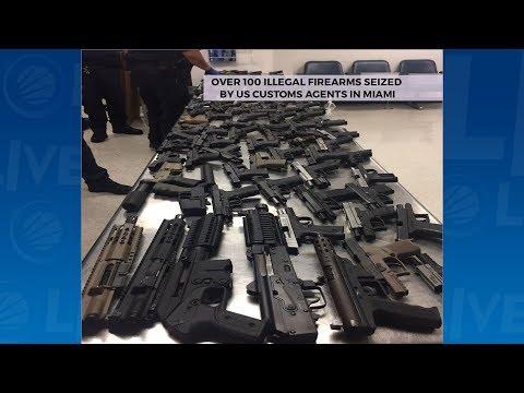 119 Guns Destined For Montego Bay