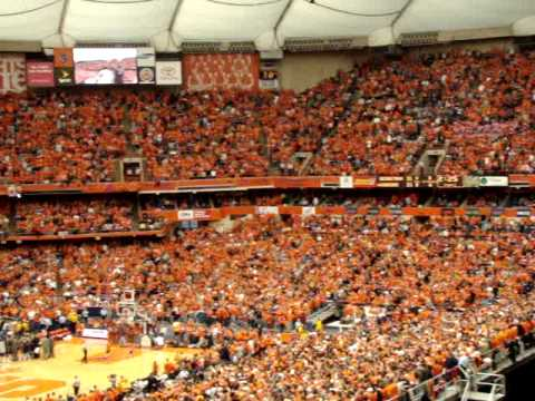 Syracuse Vs Georgetown Basketball Carrier Dome Orange Out For Revenge