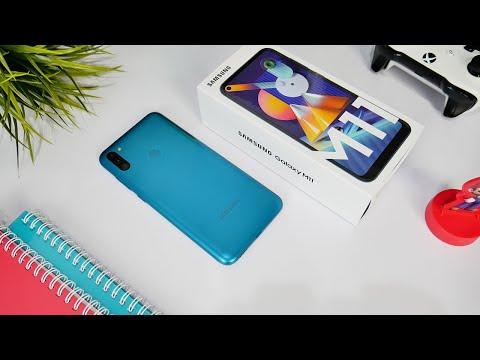 Unboxing Samsung M11 Metallic Blue + Test PUBG!