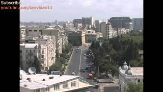 Azerbaijan Baku Main Street - youtube.com/tanvideo11