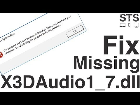 x3daudio17 dll free download for windows 10 64 bit