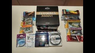Unboxing посылки (катушка, воблеры, блесны) по заказу fMagazin