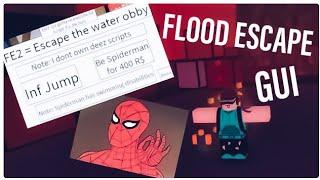 [Become Spiderman In Flood Escape 2] Roblox FE2 Script Gui | Roblocc lego hacks