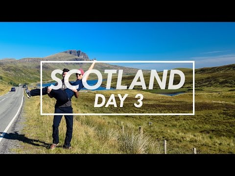 Day 3 - The Old Man of Storr, Isle of Skye, Scotland