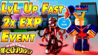 2X EXPERIENCE EVENT! | Boku No Roblox Remastered