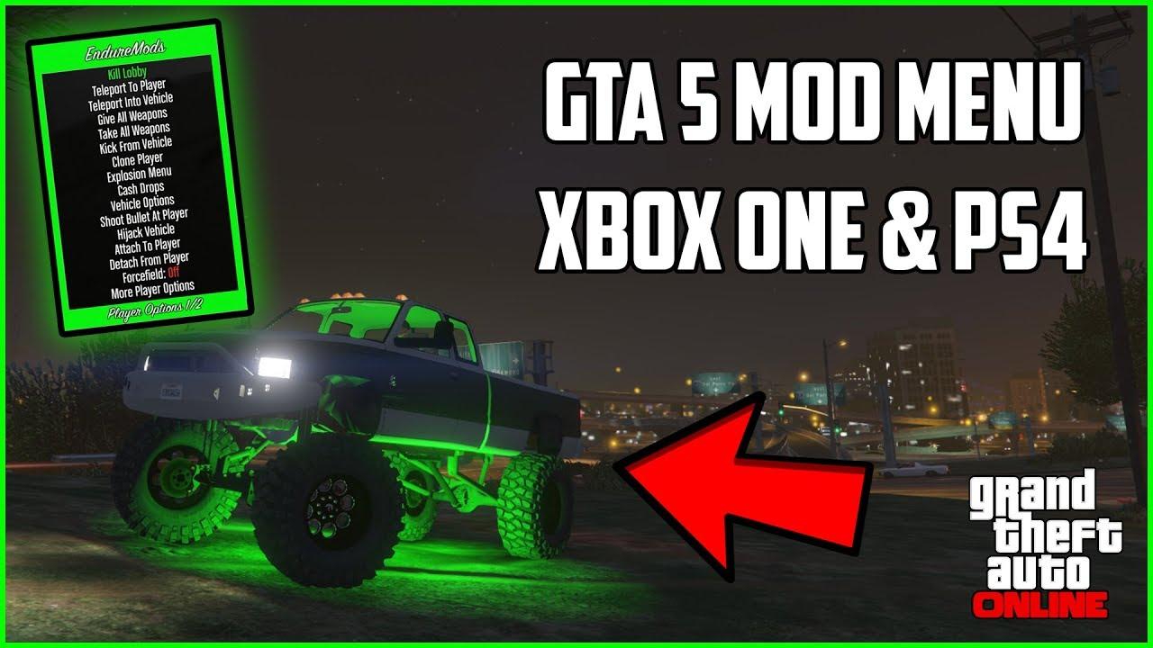 GTA 5: How To Install Mod Menu On Xbox One, PS4, Xbox 360 ...